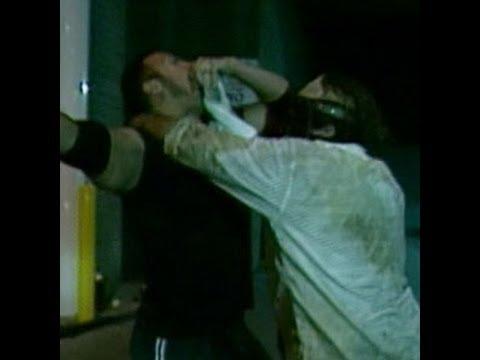 Halftime Heat, Jan. 31, 1999: Mankind defeats The Rock