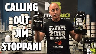 NutraBio CEO calls out Jim Stoppani for false protein claims