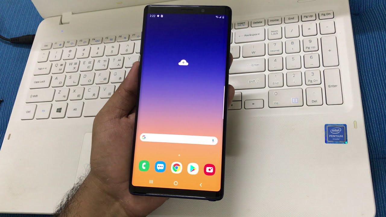 SAMSUNG Galaxy Note9 Google Lock Bypass Android 9 Pie March