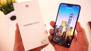 Huawei P20 Lite Black Unboxing [Urdu/Hindi]