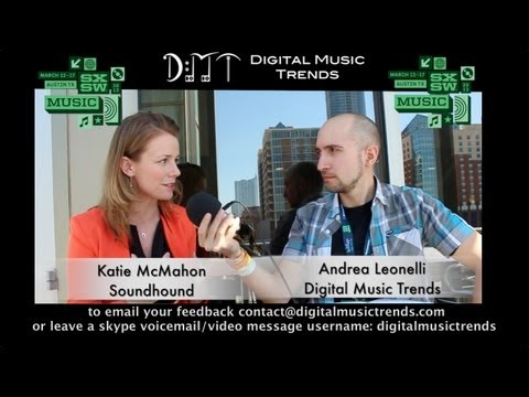 Katie McMahon, VP Sales & Marketing at SoundHound - DMT @ SXSW 2013