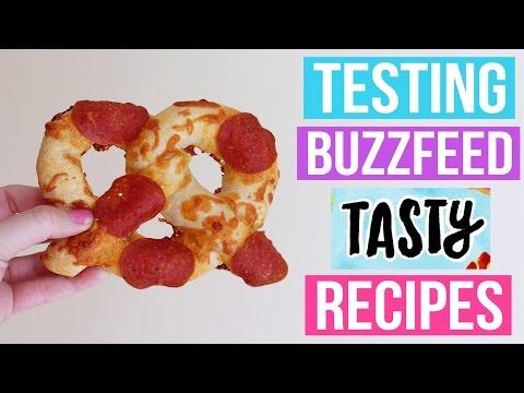 TASTY BUZZFEED RECIPES TESTED #2
