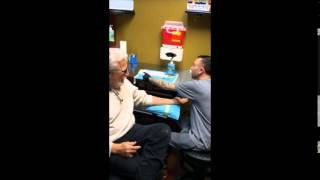 80 Year Old Grandpa Gets Tattooed to Support Gay Grandson