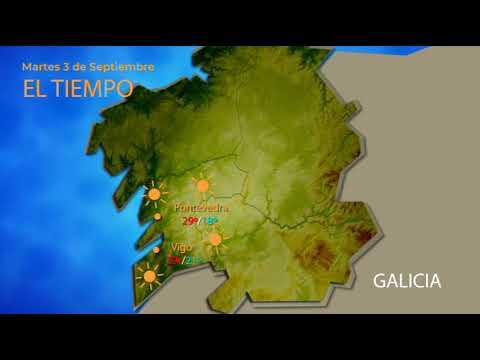 El calor se asienta en Ourense