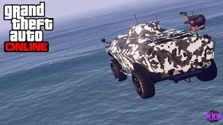 GTA 5 - NEW APC WEPONIZE CAR VEHICLE (GUN RUNNING DLC)