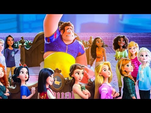Wreck It Ralph 2 Mini Movie - All Songs, Clips & Trailers (2018) HD