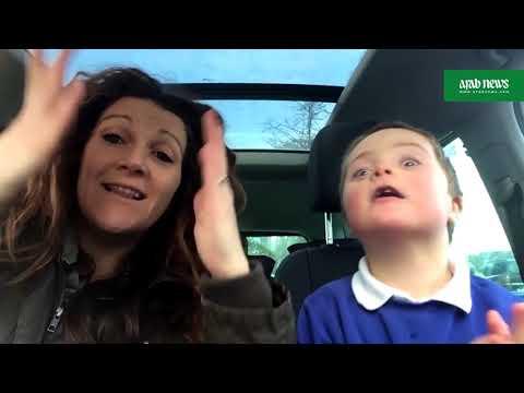 Video goes viral: mums' Down's syndrome doing carpool karaoke