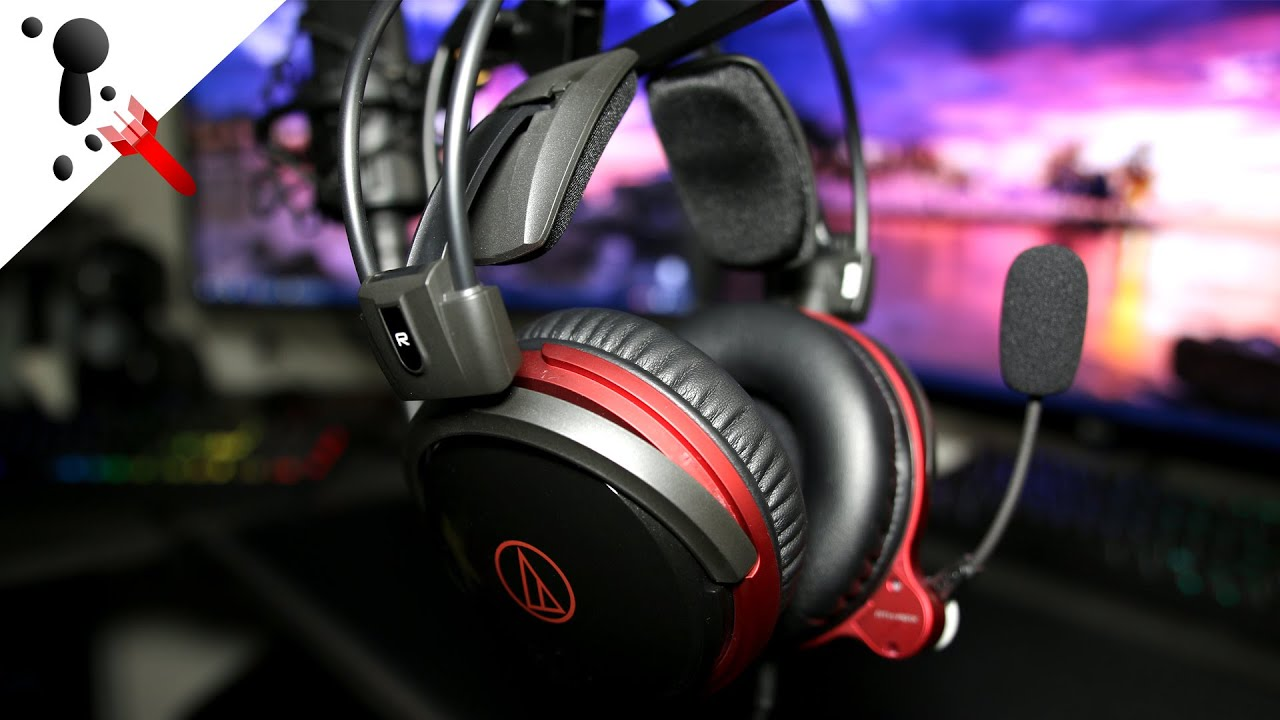 Audio-Technica ATH-AG1X Gaming Headset Review - YouTube