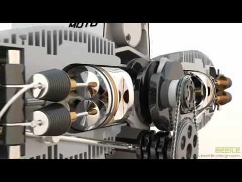 Boxer Engine Animation Youtube