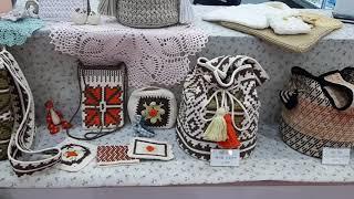 남편전시회에 꼽싸리 껴 전시하기 #crochetbag …