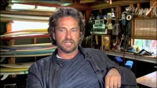 Gerard Butler talks about surfing in Chasing Mavericks streaming