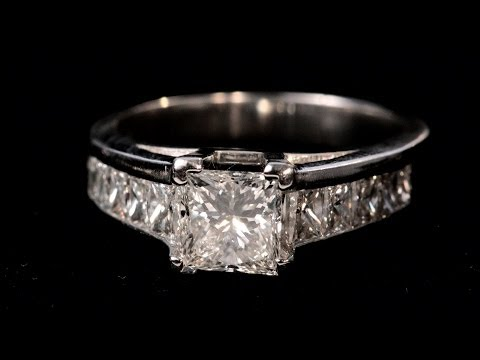 Diamond Rings: What Is a Princess Cut?