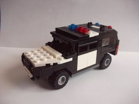 How To Make A Lego Police Hummer H2