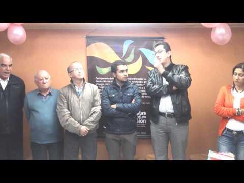 Encuentros y Despedidas en la Admón. Provincial de Bogotá-Nbre. 2014