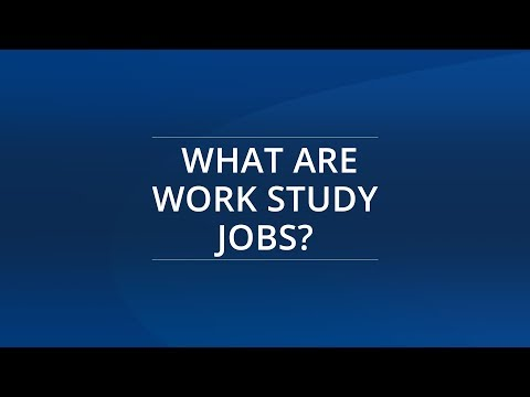 What are Work Study Jobs?