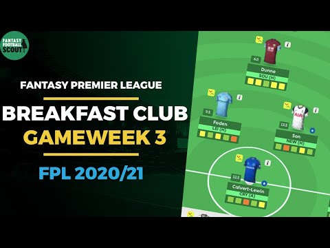 FPL Breakfast Club Gameweek 3 | WILDCARD REVEAL! | Fantasy Premier League Tips 20/21