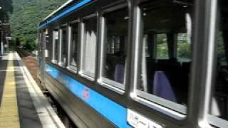 肥薩線 吉尾駅1229D 発車