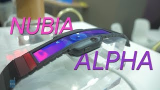 Nubia Alpha first look: a phone that you wear on your wrist!