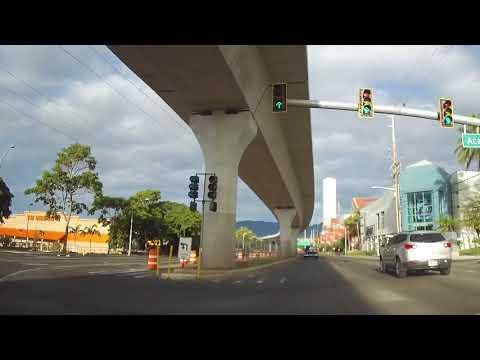 Honolulu Rail Route - October 2017