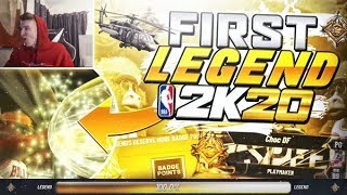 The FIRST LEGEND In NBA 2K20 - Live Reaction + All Rewards