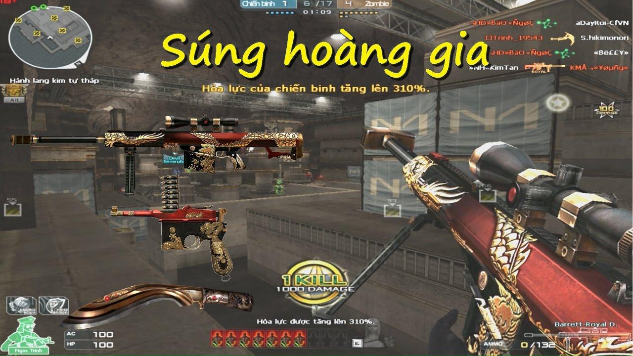 [ Bình luận CF ] Set súng 3Z Royal Dragon - Quang Brave - YouTube