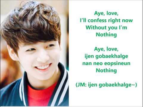 BTS Jimin & Jungkook   Christmas Day Lyrics  En