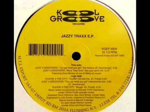 Playin' 4 The City - Souffle (US Edit Mix) [Jazzy Traxx EP]