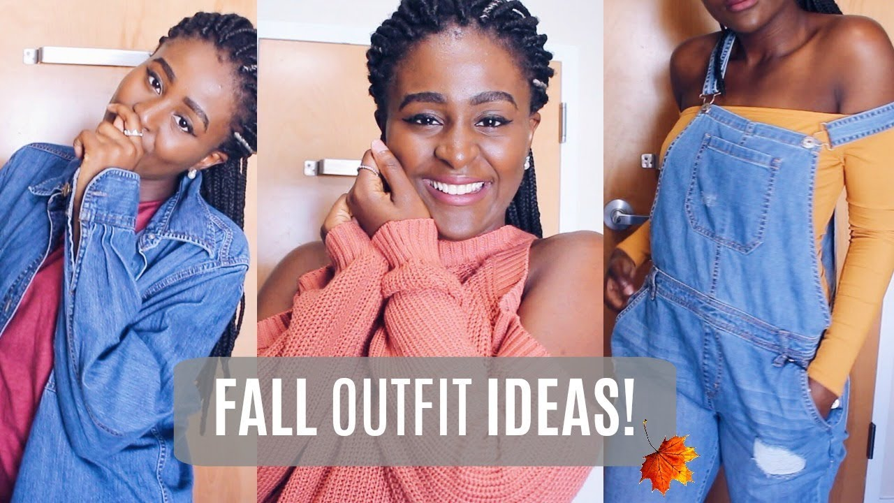 [VIDEO] - Fall Outfits Of The Week (Outfit Ideas/Lookbook) 2