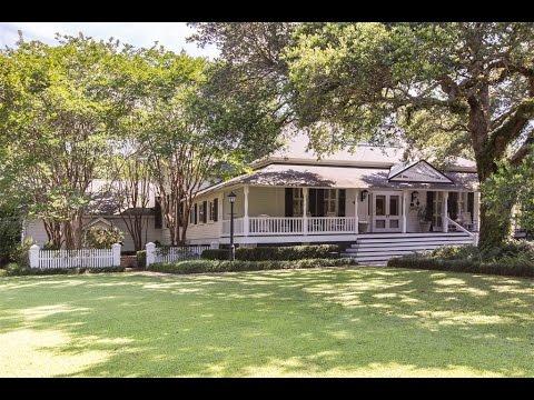 Historic River Front Estate in Magnolia Springs, Alabama
