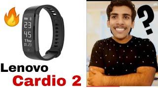 Lenovo smart band Cardio 2 full detail Review(Hindi)| mi band 3 killer!💥