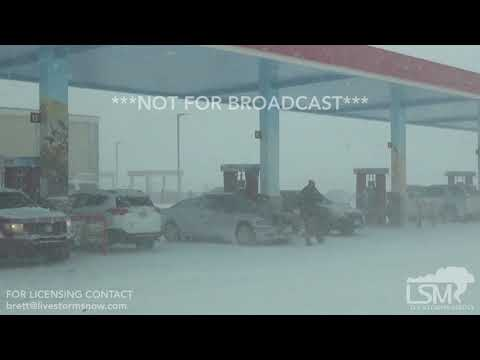 03-13-19 Eastern Denver Co -Historic Blizzard - I 70 Closure- 70 MPH Winds  - Wind Damage- Accidents