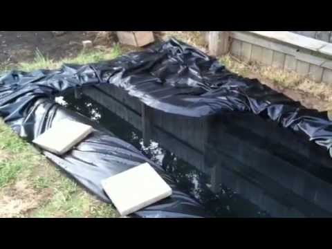 How to build an outdoor pond for turtles youtube for Making a small pond