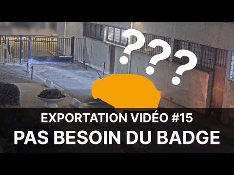 Vidéoprotection en Copropriété - Extrait #15 : pas besoin du badge