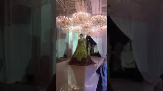 Свадебное платье из золото. Супер.