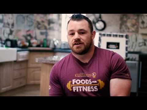 Cian Healy - Kerrigan's Foods for Fitness Ambassador