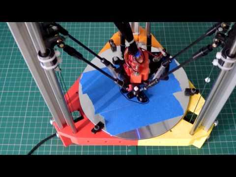 RepRap 3DR Delta 3D printer