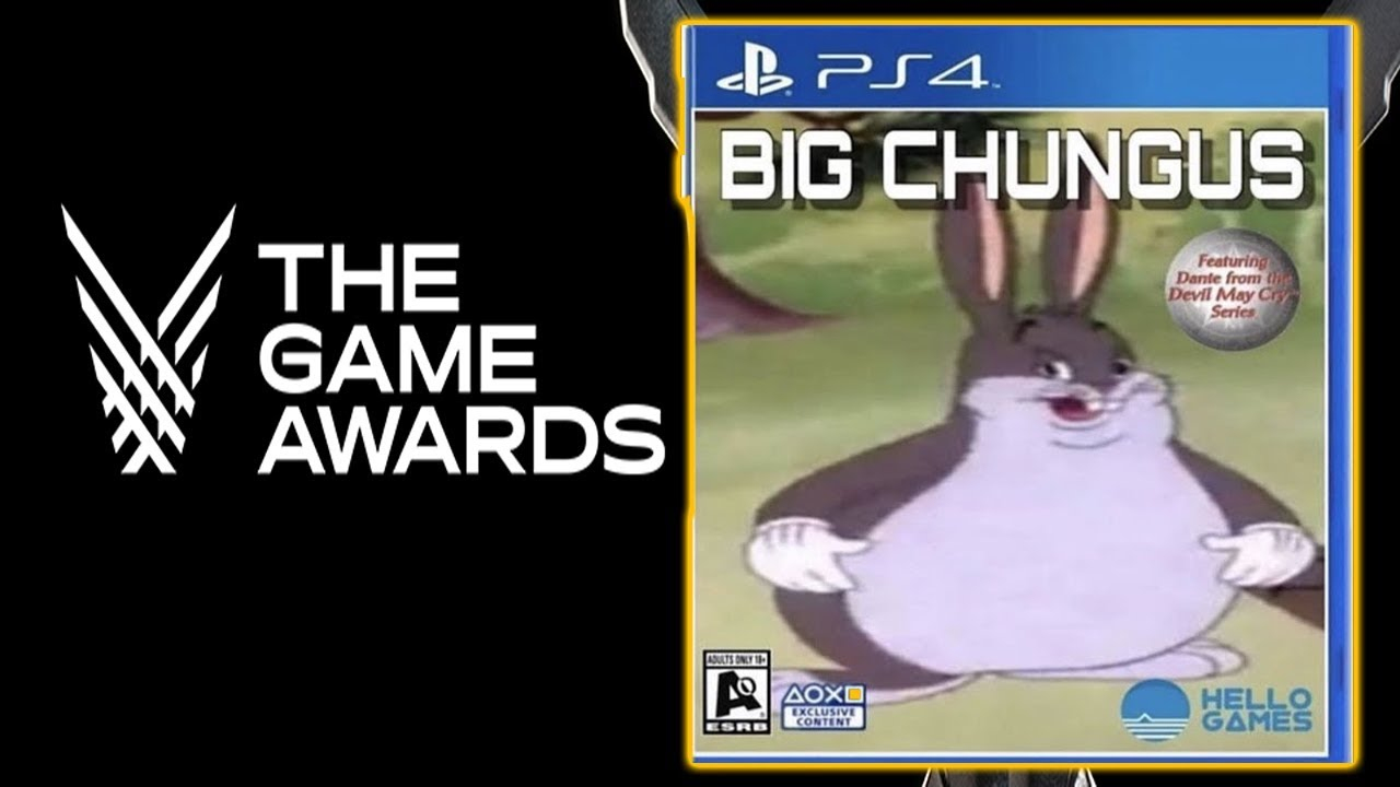 Big Chungus Wins Game Of The Year Youtube