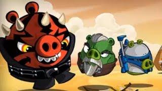Прохождение  Angry Birds Star Wars 2 серия 18. Свинская сторона 6