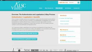How to Authenticate and Legalize a Canadian Document - ALSC Tuto
