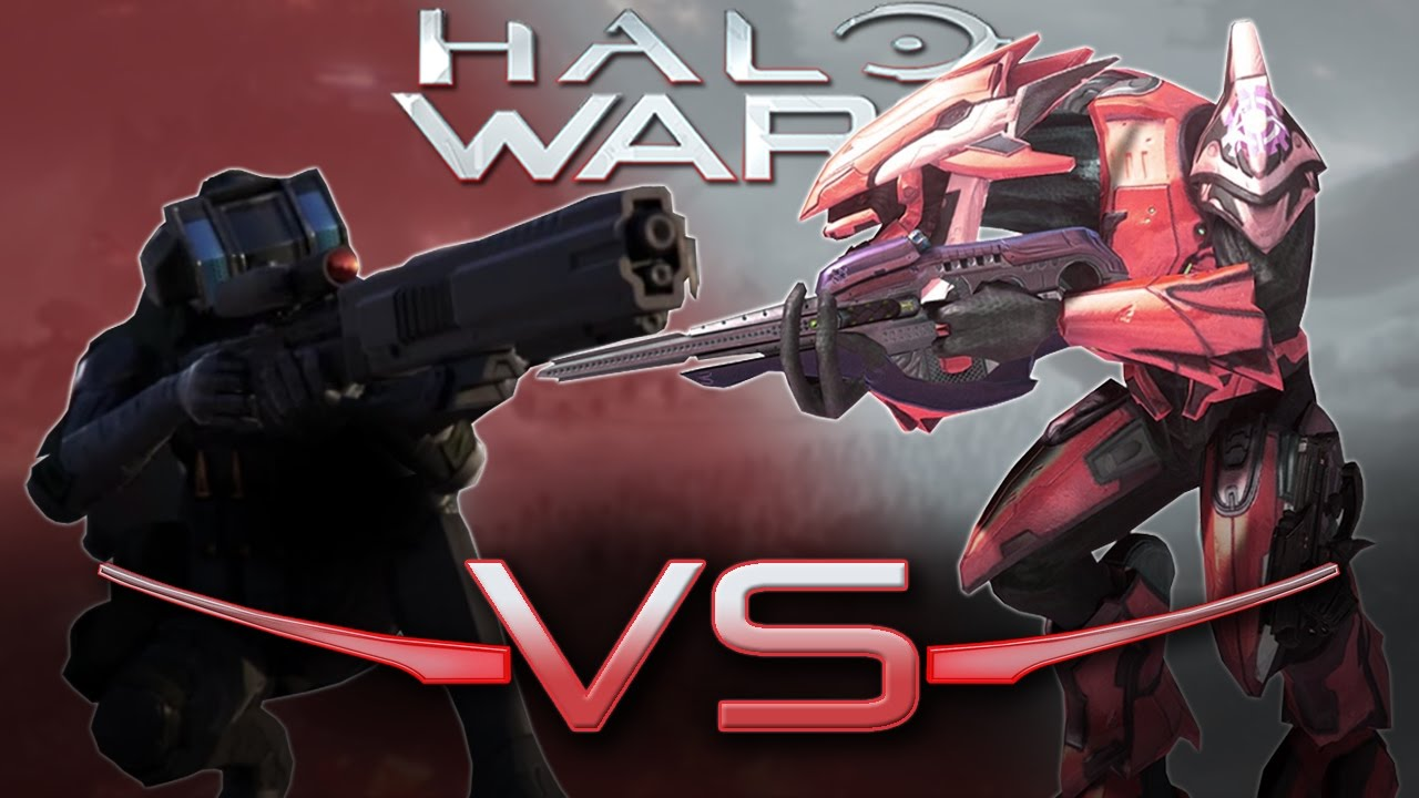 Halo Wars Elite Sniper Vs. Elit...