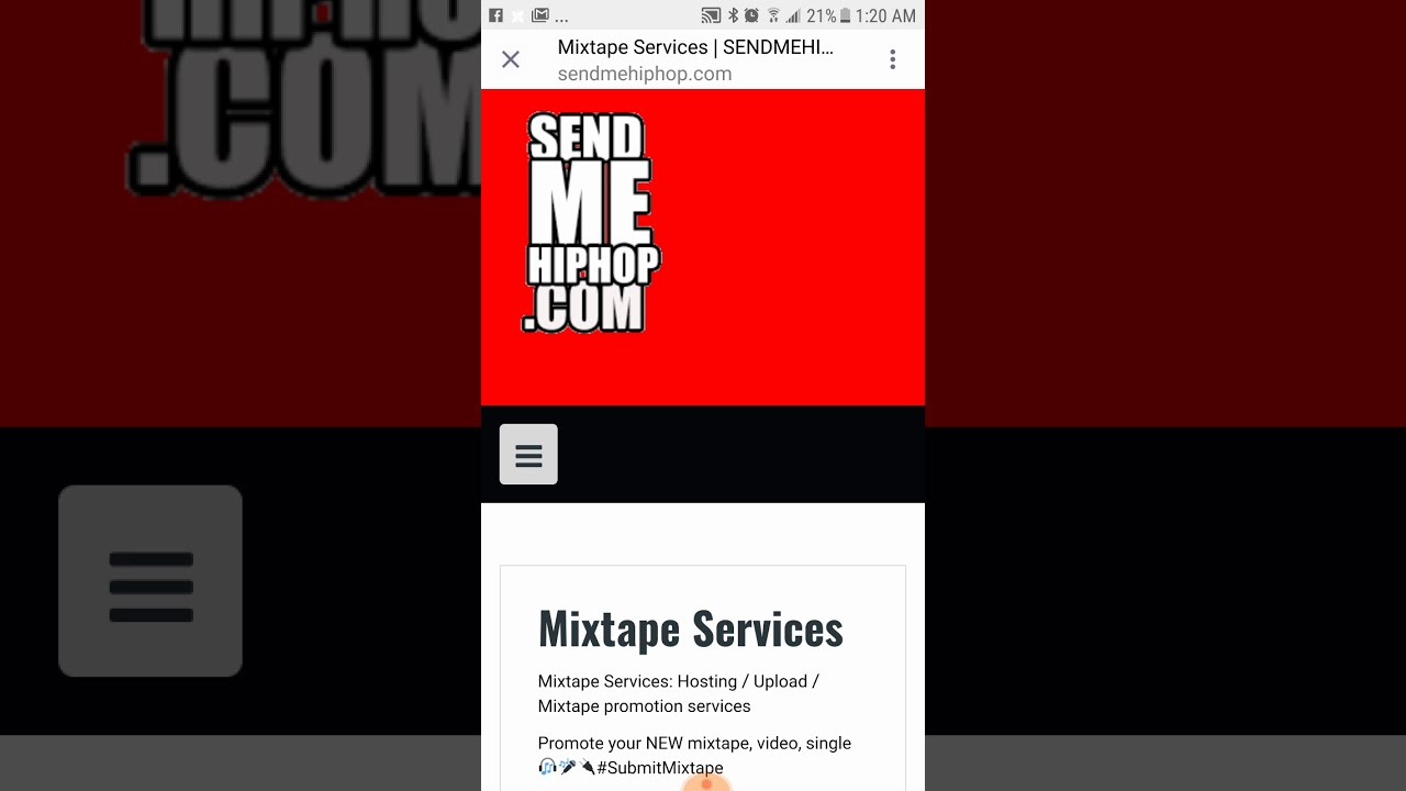 How to upload your mixtapes or singles to datpiff mymixtapez spinrilla