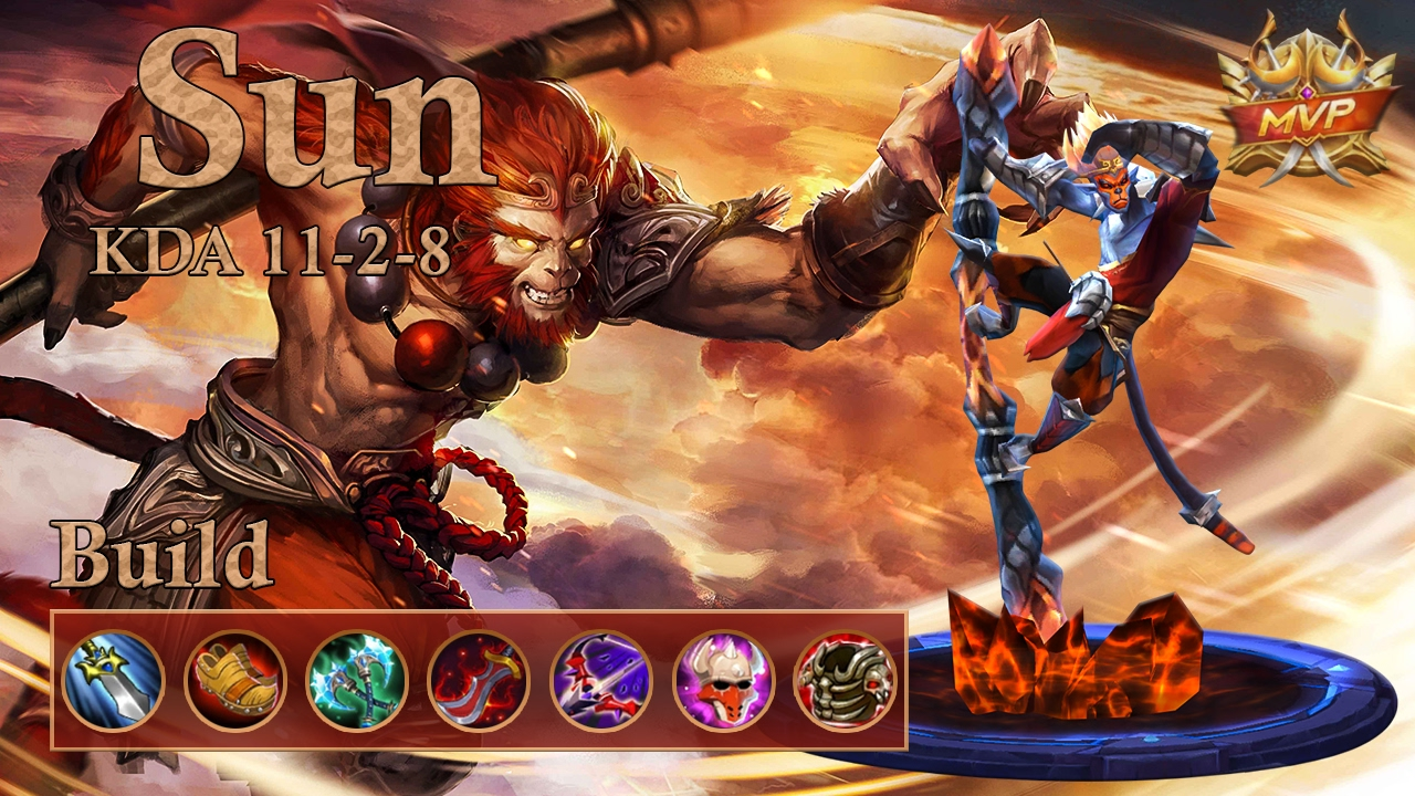 Mobile Legends Sun Mvp, Best Fighting Build - Youtube-8840