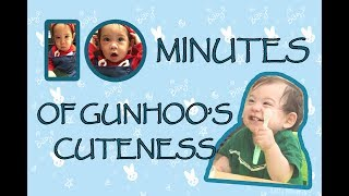 10 minutes of gunhoo's cuteness | compilation