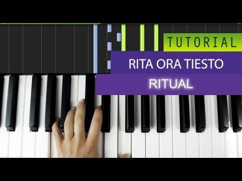 Tiësto, Jonas Blue & Rita Ora - Ritual Piano Tutorial + MIDI Download