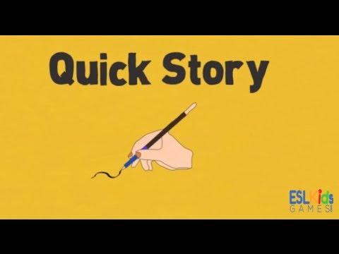 ESL Warmer Quick Story - YouTube
