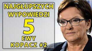 5 najgłupszych wypowiedzi Ewy Kopacz #2
