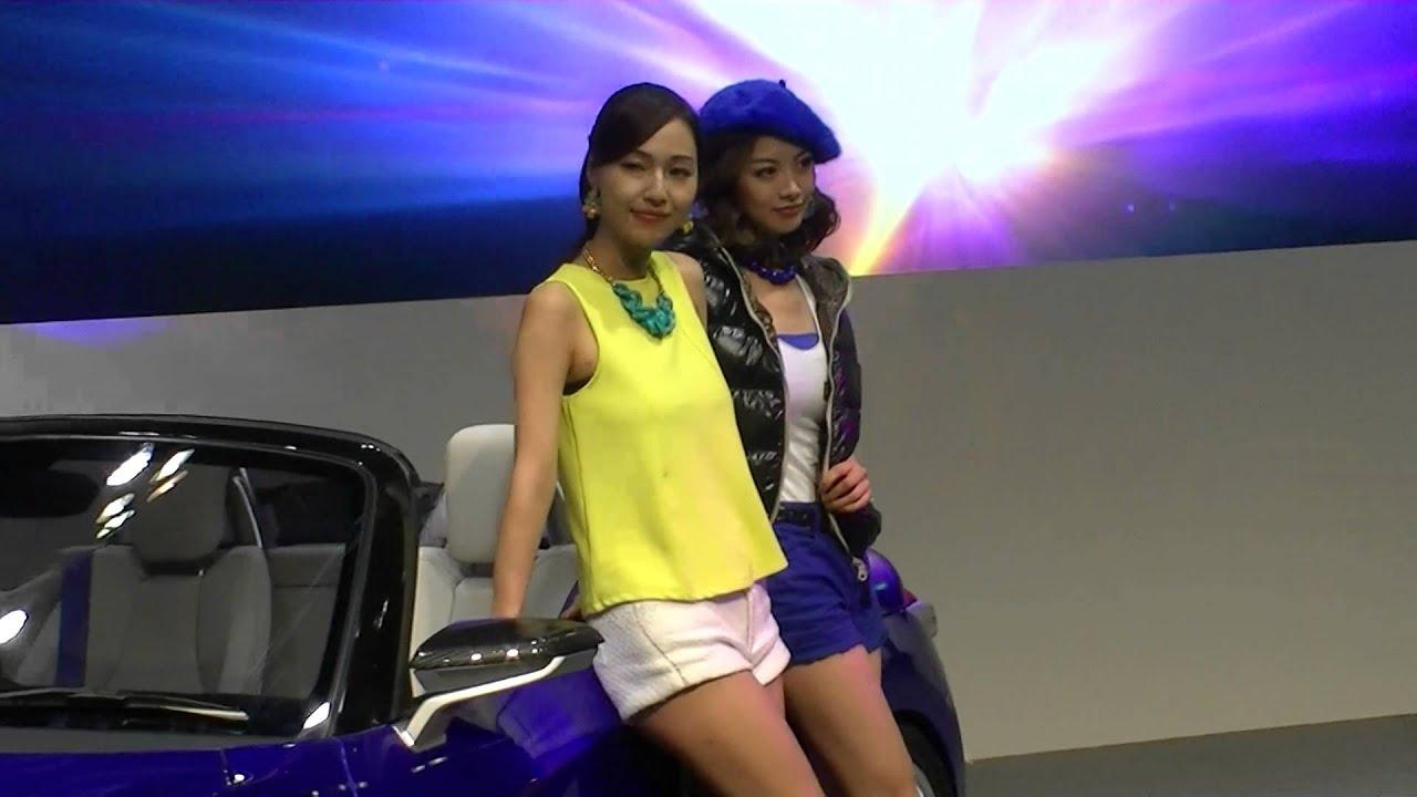 朝香りほ 名古屋モーターショー2013 ダイハツキャンギャル2