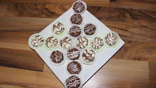 Erdnuss - Schoko Taler / Gâteau Aux Cacahuetes