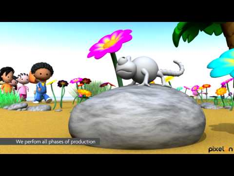 Children 3D Animation - From an idea, to television