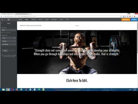 Weebly Tutorial: How To Make A One Page Smooth Scrolling Navigation In Your Weebly Site